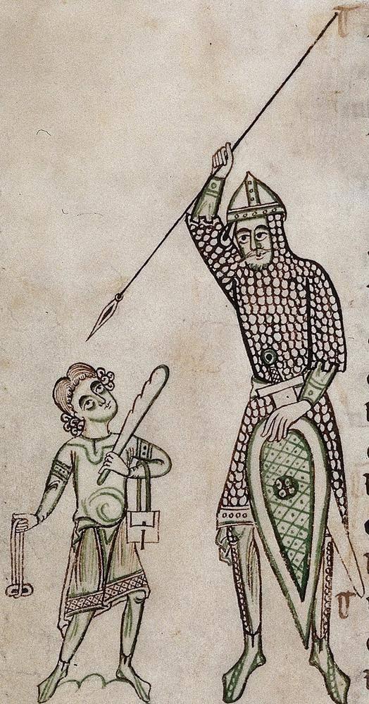 Давид и Голиаф. Иллюстрированная история генезиса западноевропейских средневековых доспехов. Ч. 2