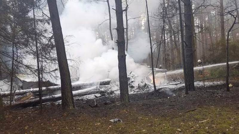 In Poland, the MiG-29 fighter jet crashed the Air Force of the country