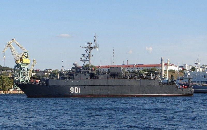 """Sea trawler """"Zheleznyakov"""" project 12600 came out with the average repair"""