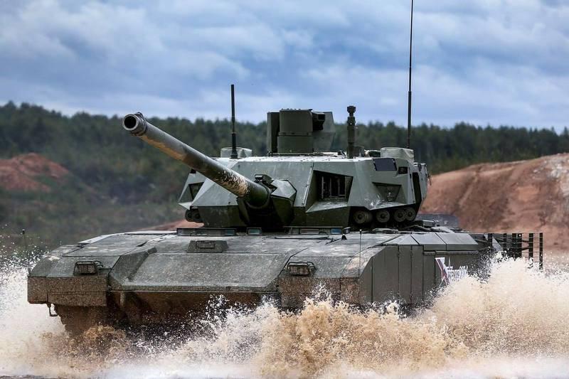 """Новый танк Т-14 """"Армата"""" оборудовали санузлом"""
