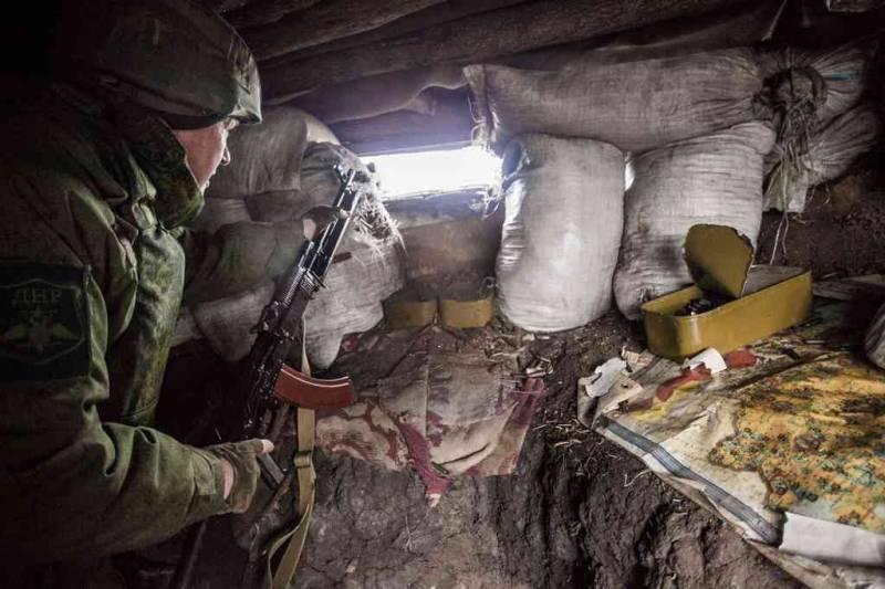 Вооруженный боевик «ЛНР» пришел кукраинским позициям— Штаб