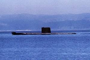 잠수함과 심리적 인 전쟁. 2의 일부