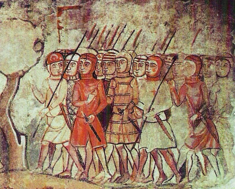 三世紀の騎士と騎士道。 スペイン騎士団:アラゴン、ナバラ、カタルーニャ(パート6)