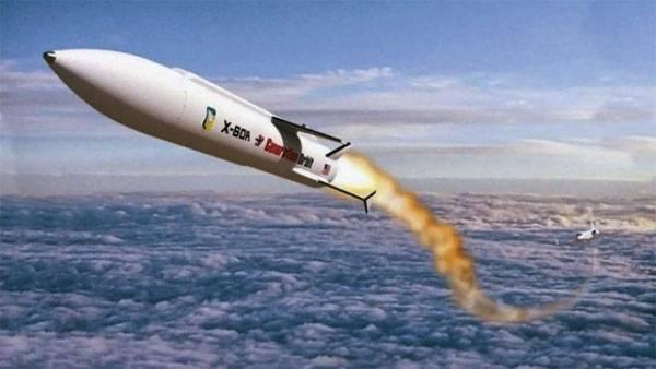 Míssil hipersônico X-60A GO1 nos Estados Unidos está se preparando para testes de voo