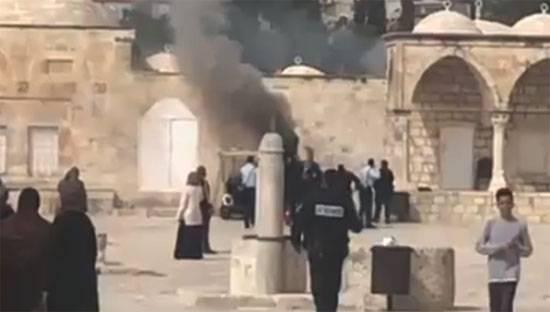 Action terroriste sur le mont du temple à Jérusalem