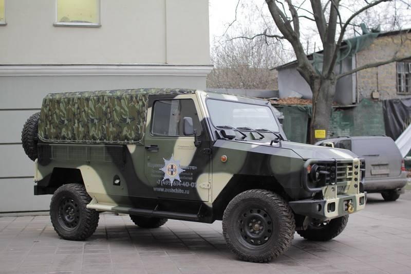 Семейство автомобилей и броневиков «Скорпион»