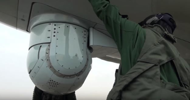 Современный противолодочный самолёт. Kawasaki P-1