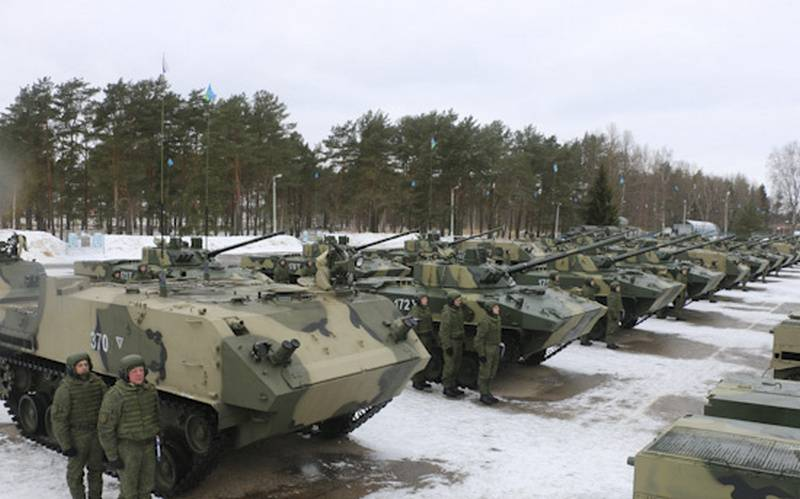 Pskov paratroopers received a battalion set of new equipment