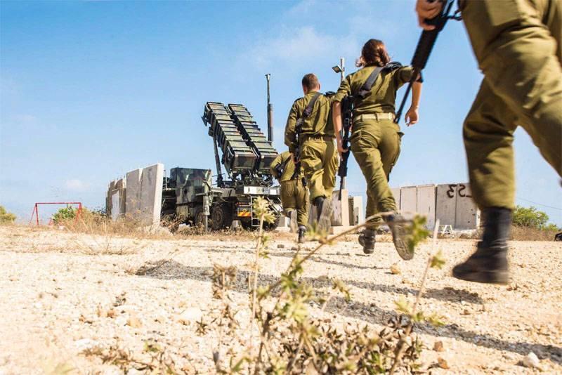 ВИзраиле сообщили  озапуске 2-х  ракет состороны сектора Газа