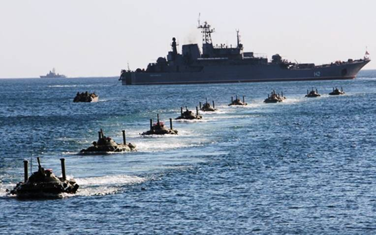 Ministry of foreign Affairs of Ukraine accused Russia of preparing to attack from the sea