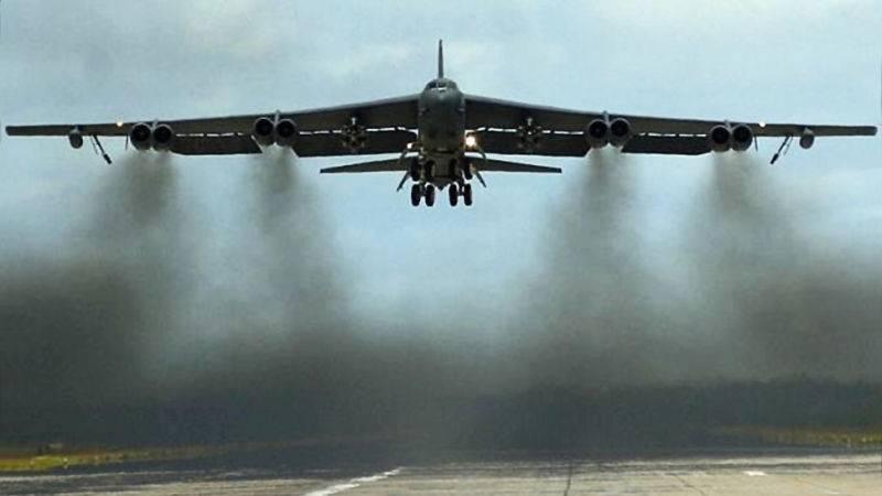 EUA ocultam o objetivo de transportar vários B-52H para a Grã-Bretanha