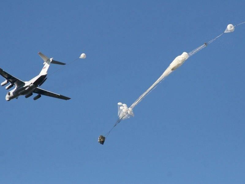 Российская армия готовится к получению новейших парашютных систем