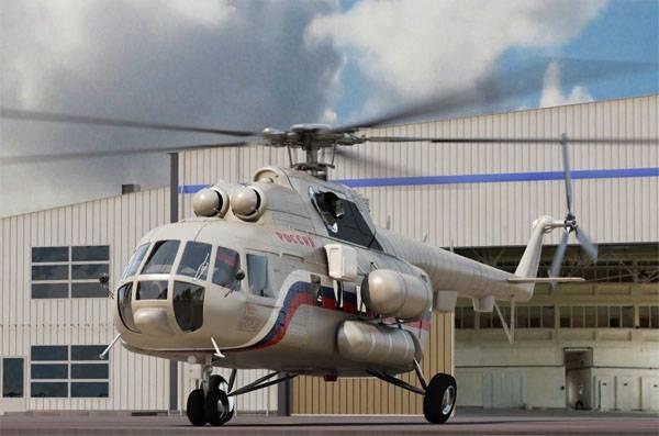 Осуществлено импортозамещение по вертолётным двигателям ВК-2500