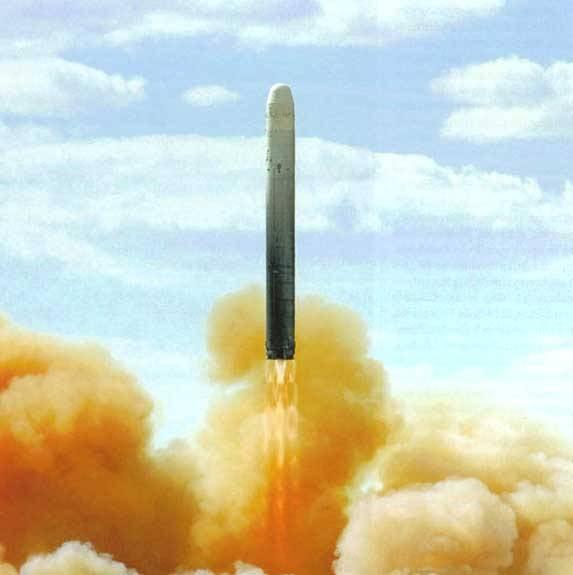 रूस के सामरिक परमाणु बलों में अंतरमहाद्वीपीय बैलिस्टिक मिसाइलें
