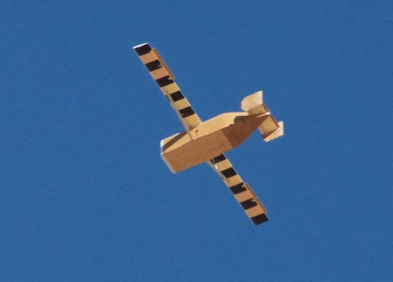 the United States has experienced disposable cargo drones for the Marines