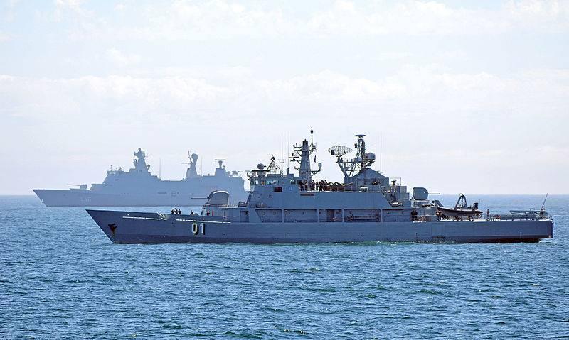 Минные заградители современных флотов