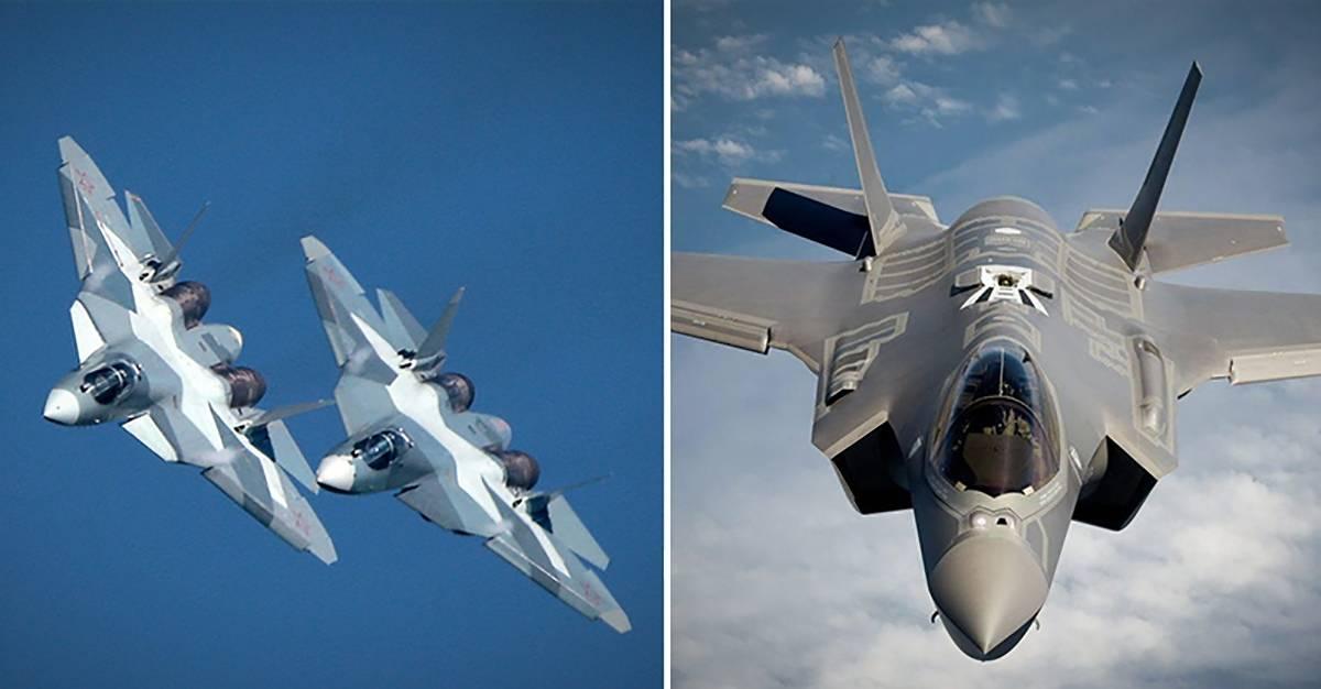 Американский эксперт сравнил Су-57 и F-35