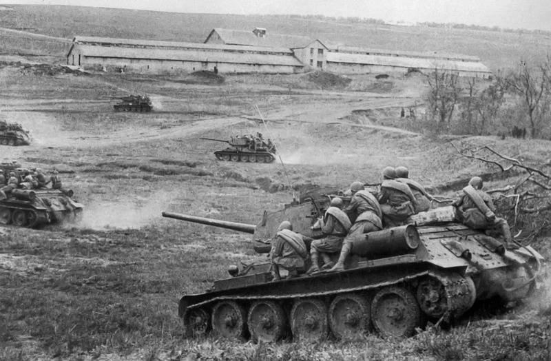 Третий сталинский удар. Одесская наступательная операция