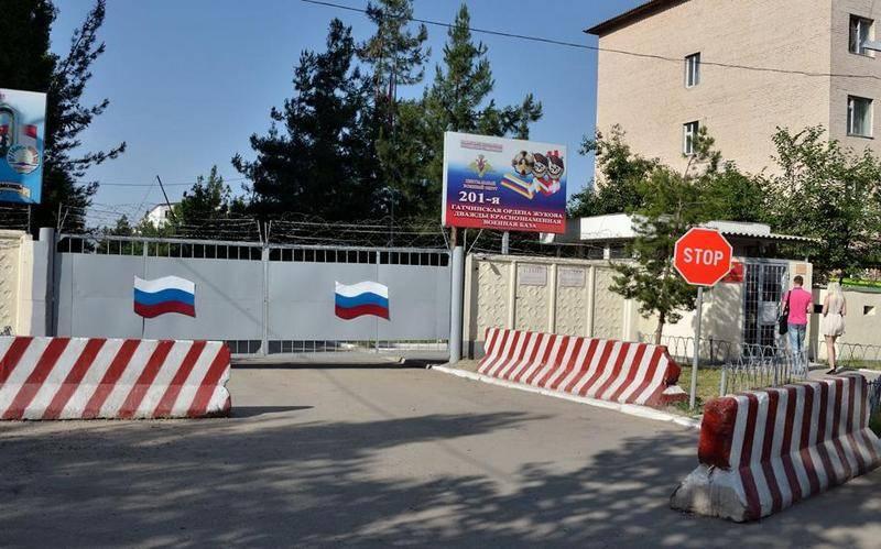Россия отдаст Таджикистану два военных городка
