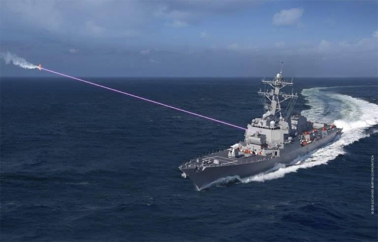 ВМС США выпрашивает на лазеры и F-35 ещё 3 миллиарда долларов