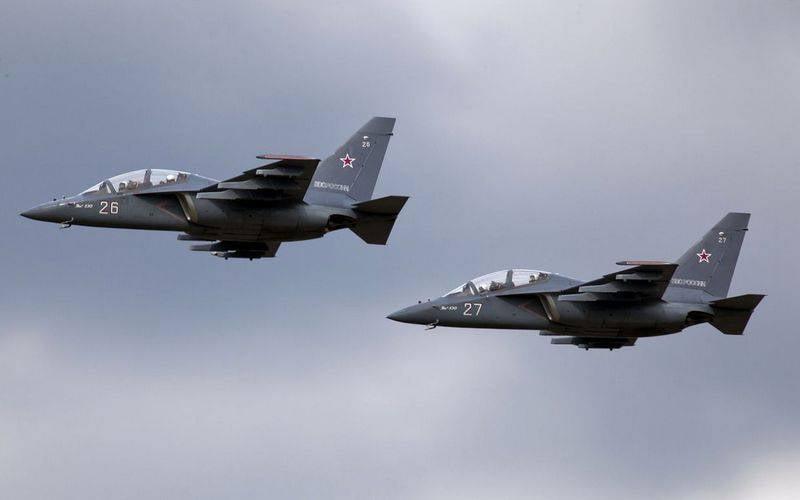 Россия подписала контракты на поставку за рубеж около ста Як-130