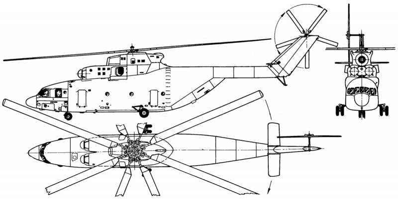 Советский «супертяж» Ми-26. Часть 1