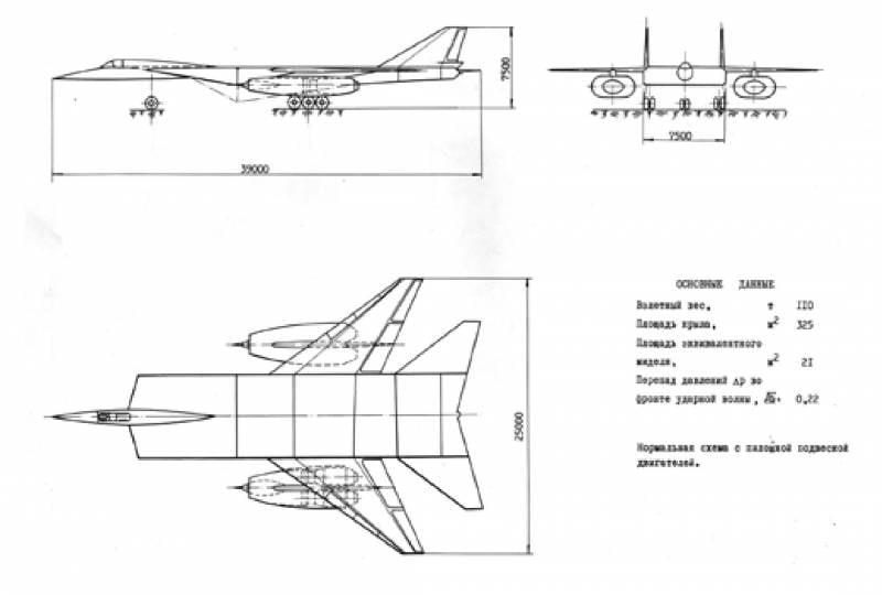 Проект самолёта М-25: ударная волна против наземных целей