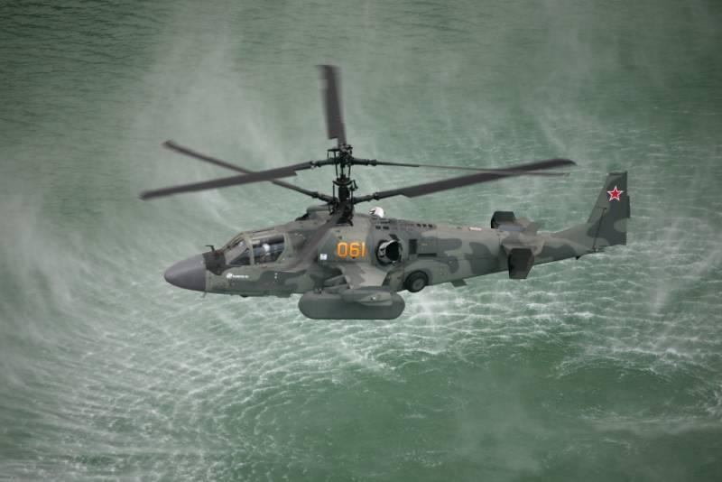Ка-52 расширяет возможности с помощью ГОЭС-451 и системы РЭБ