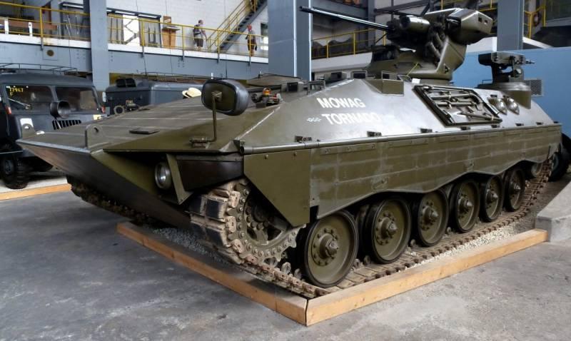 Боевая машина пехоты для Швейцарских Альп