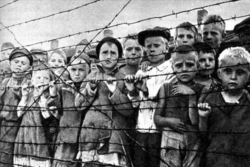 dětský Katyň koncentrační tábor krasnyj bereg zločiny nacistického Německa během Druhé světové války, pokec24