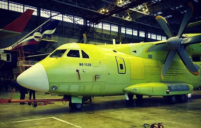 Новейший транспортник Ил-112В получил разрешение на первый полёт