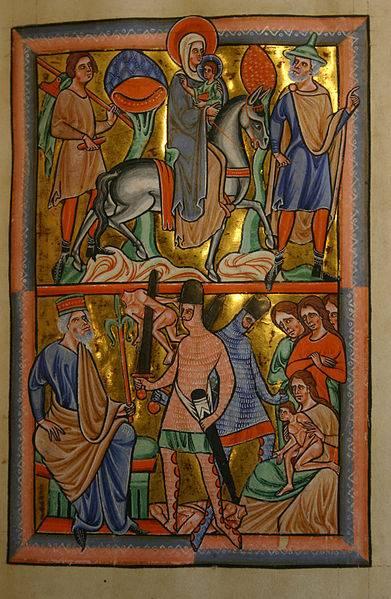 «Убиение младенцев». Иллюстрированная история генезиса западноевропейских средневековых доспехов. Часть 3