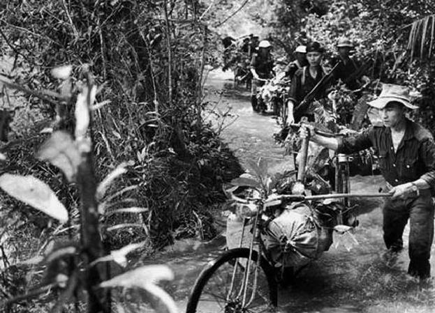 Ho Chi Minh Trail. Vietnamesische Lebensstraße. Teil von 1
