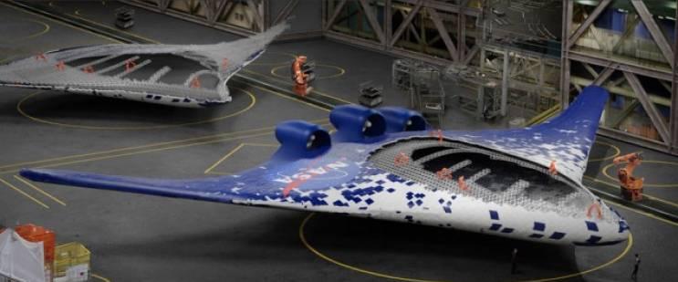 В США разработали самолётное крыло нового типа