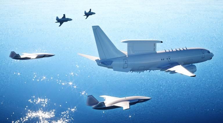 """전투 """"Gremlins""""미국 공군 : 항공 모함 항공기 개념의 부활"""