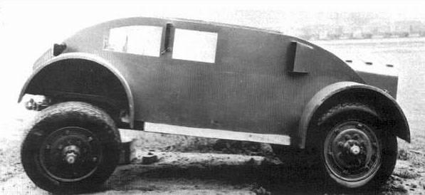 Бронеавтомобиль Straussler AC-1 (Великобритания — Венгрия)