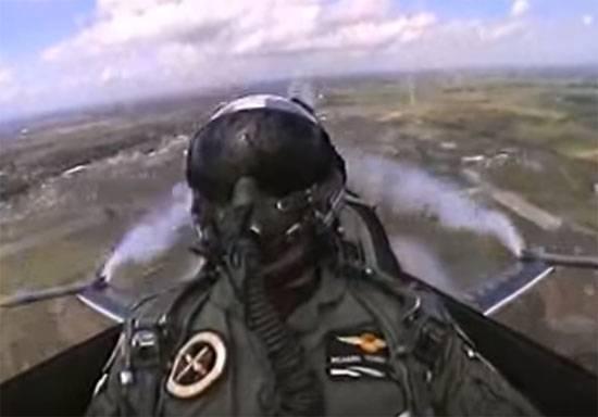 Пилот F-16 ВВС Нидерландов смог подстрелить собственный самолёт