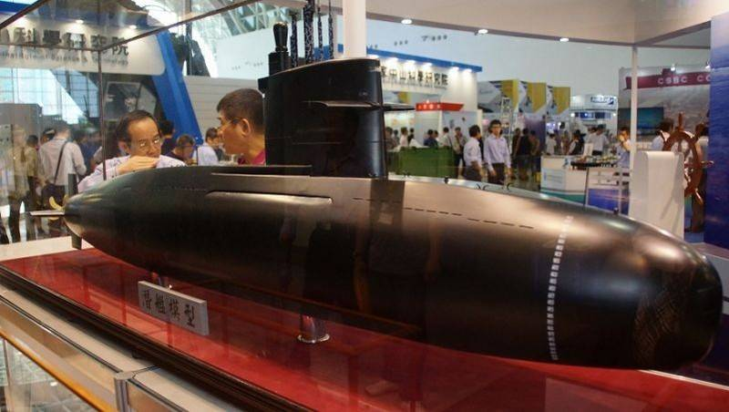 Democratic People's Republic of Korea proposed to Taiwan VNEU own design for diesel-electric submarines
