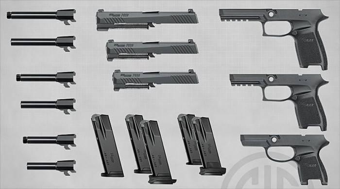 Армейский пистолет в США. Часть 2
