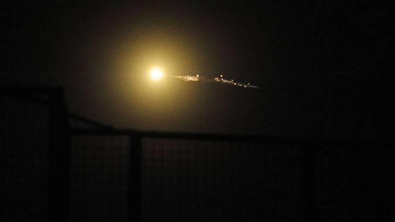 СМИ Израиль нанёс очередной удар по сирийской территории
