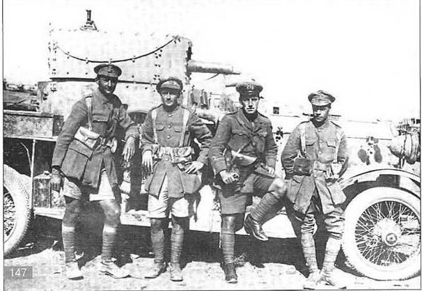 """प्रथम विश्व युद्ध के रूसी मोर्चे के विदेशी """"तोप चारा"""""""