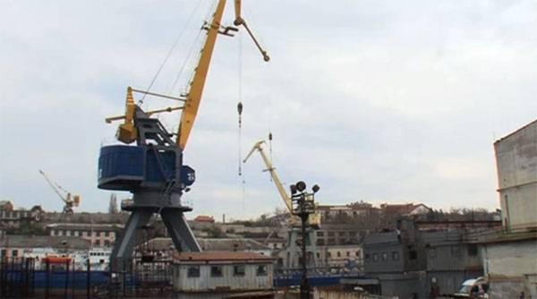 Former factory Poroshenko becomes the base enterprise of ship repair black sea fleet