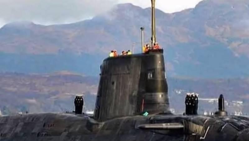 Экипаж английской подлодки непрошел тест нанаркотики
