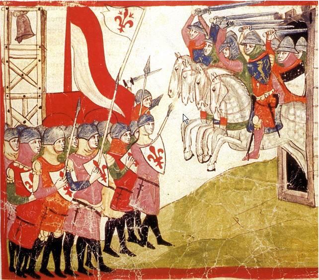 三世紀の騎士と騎士道。 イタリア南部およびシチリア島の騎士団1050-1350