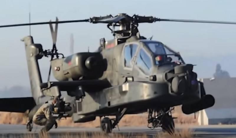 Britain transferred to Estonia attack helicopters Apache