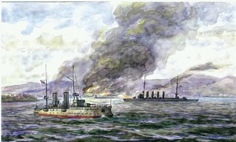 Трагическая бомбардировка Новороссийска 1914 года. Гарнизон без артиллерии