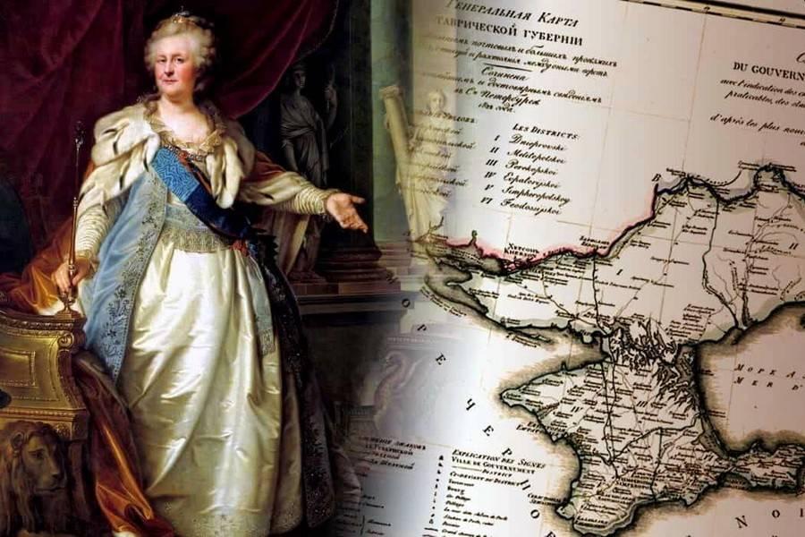 Картинки присоединение крыма к россии 1783 год