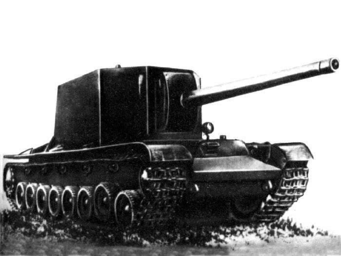 हथियारों के बारे में कहानियां। अजीब SAU SU-100Y