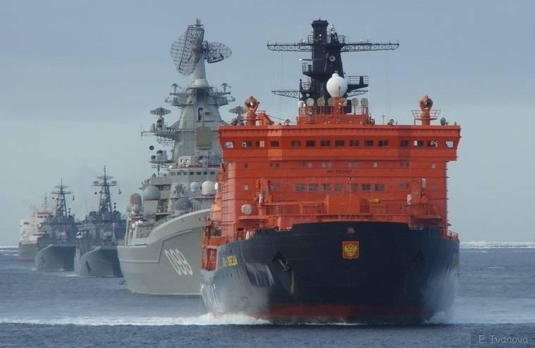 Реальные угрозы в Арктике: из-под воды и с воздуха