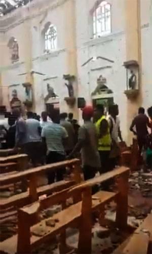 Множественные теракты в церквях и отелях Шри-Ланки